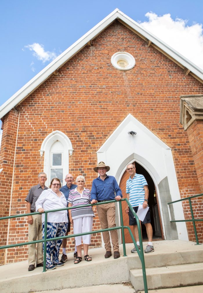 $95,512 TO HELP RESTORE INVERELL'S OLDEST WORKING CHAPEL