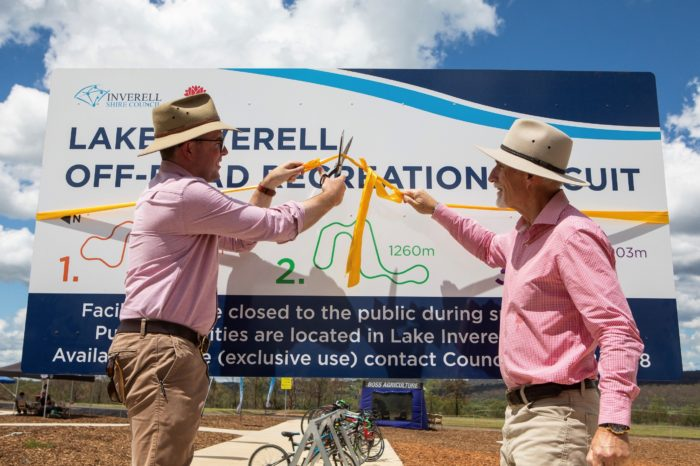 NEW $1.4 MILLION INVERELL OFF-ROAD CIRCUIT OFFICIALLY OFF AND RACING