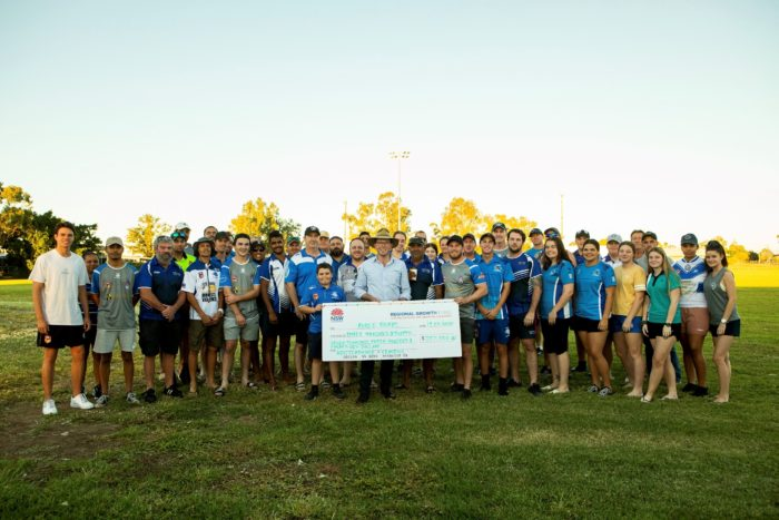 MOREE BOARS WALLOW IN FUNDING FOR NEW CLUBHOUSE & GRANDSTAND