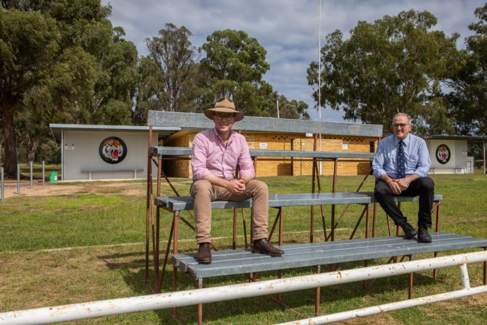 $59,500 OVERHAULS TINGHA TIGERS RUGBY LEAGUE DEN SEATING