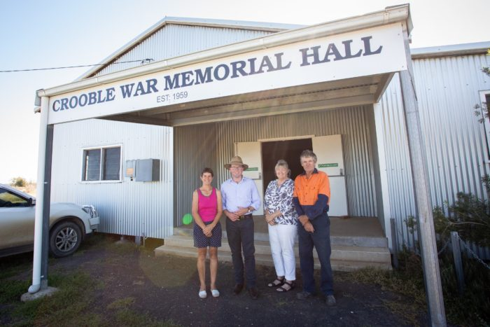 $52,713 TO HELP KEEP THINGS COOL AT CROOBLE MEMORIAL HALL