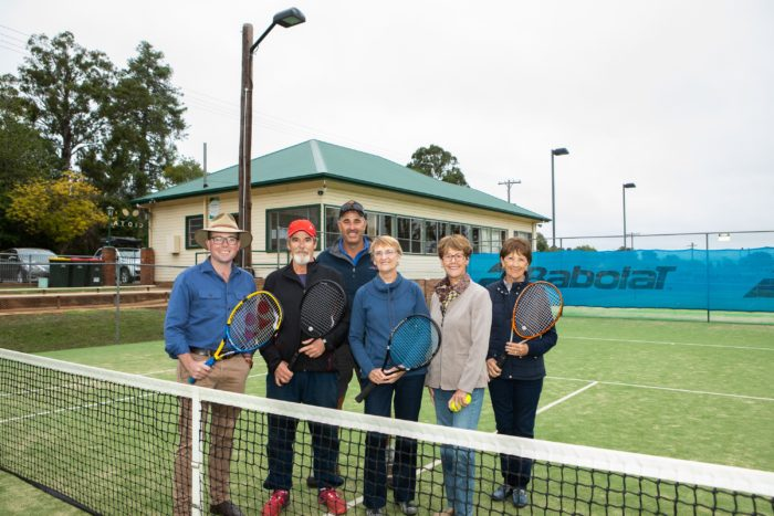 $156,750 SERVES UP NEW FENCING ACE AT GLEN INNES TENNIS CLUB