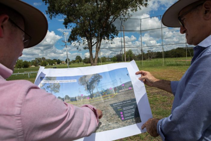 $89,000 TO CREATE AN EXCITING OUTDOOR YOUTH PARK IN INVERELL