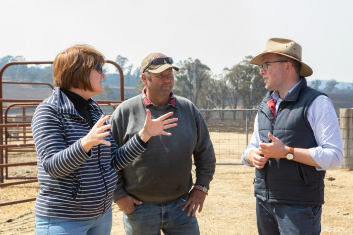 REGION'S BURNT-OUT FARMERS RECEIVE $12 MILLION SUPPORT SO FAR