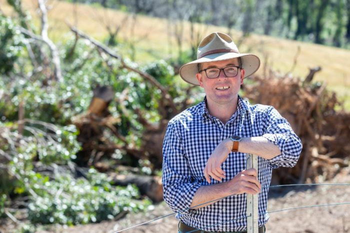 BURNT-OUT FARMERS RECEIVE $13.3 MILLION SUPPORT SO FAR TO REBUILD