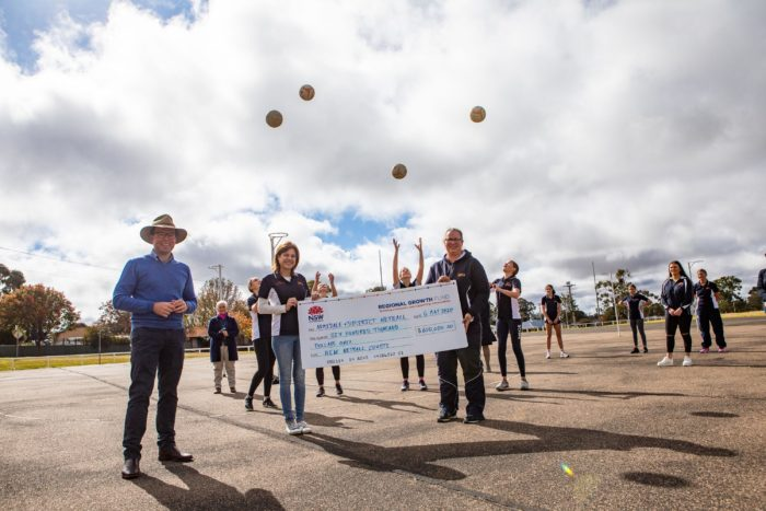 ARMIDALE & DISTRICT NETBALL ON THE ATTACK WITH $600,000 COURT UPGRADE