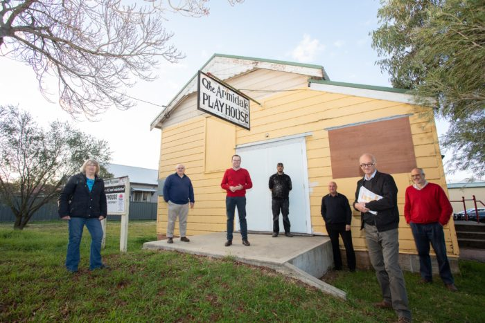 FIRST ACT BEGINS ON $436,661 UPGRADE OF ARMIDALE PLAYHOUSE THEATRE