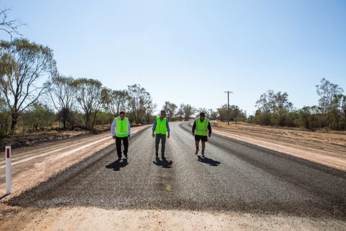 $15.2 MILLION CARRIGAN ROAD SEALING PROJECT REACHES HALFWAY MARK