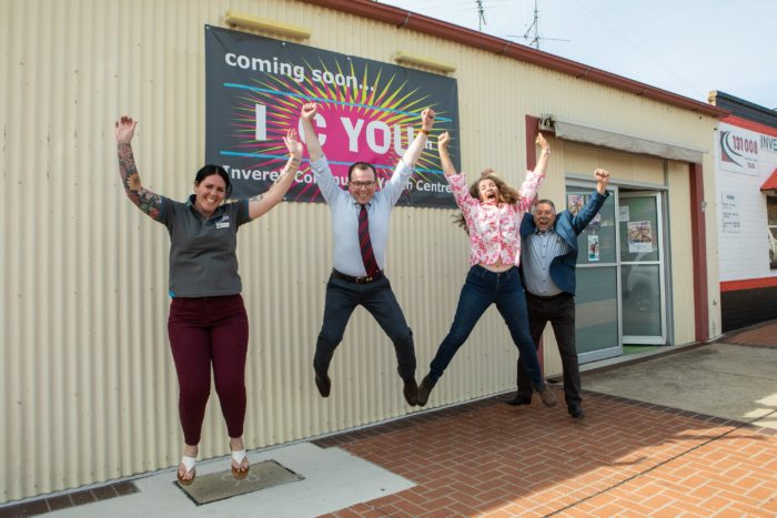 $208,820 DELIVERS NEW SPACE AND SUPPORT FOR INVERELL'S YOUTH
