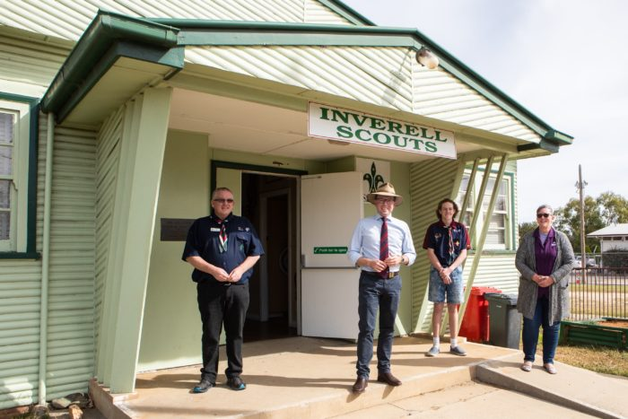 INVERELL SCOUTS SECURE $19,745 GRANT TO UPGRADE 60-YEAR-OLD HALL