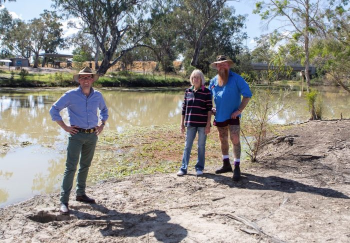 STATES COME TOGETHER ON $460,000 UPGRADE OF MUNGINDI REC AREA