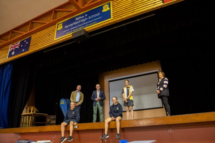 $136,335 MAKES A BIG NOISE AT TENTERFIELD HIGH SCHOOL