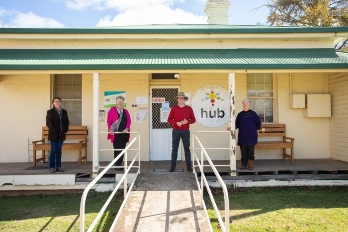 $400,000 EXPANSION OF 'THE HUB' AT GUYRA POISED TO START