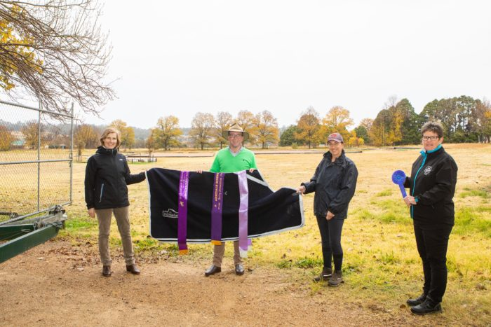 NEW PERMANENT YARDS IMPROVES SAFETY AT ARMIDALE RIDING CLUB
