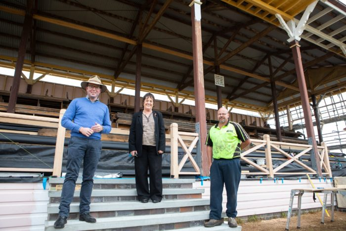 EXTRA $119,043 FOR ARMIDALE SHOWGROUND GRANDSTANDS
