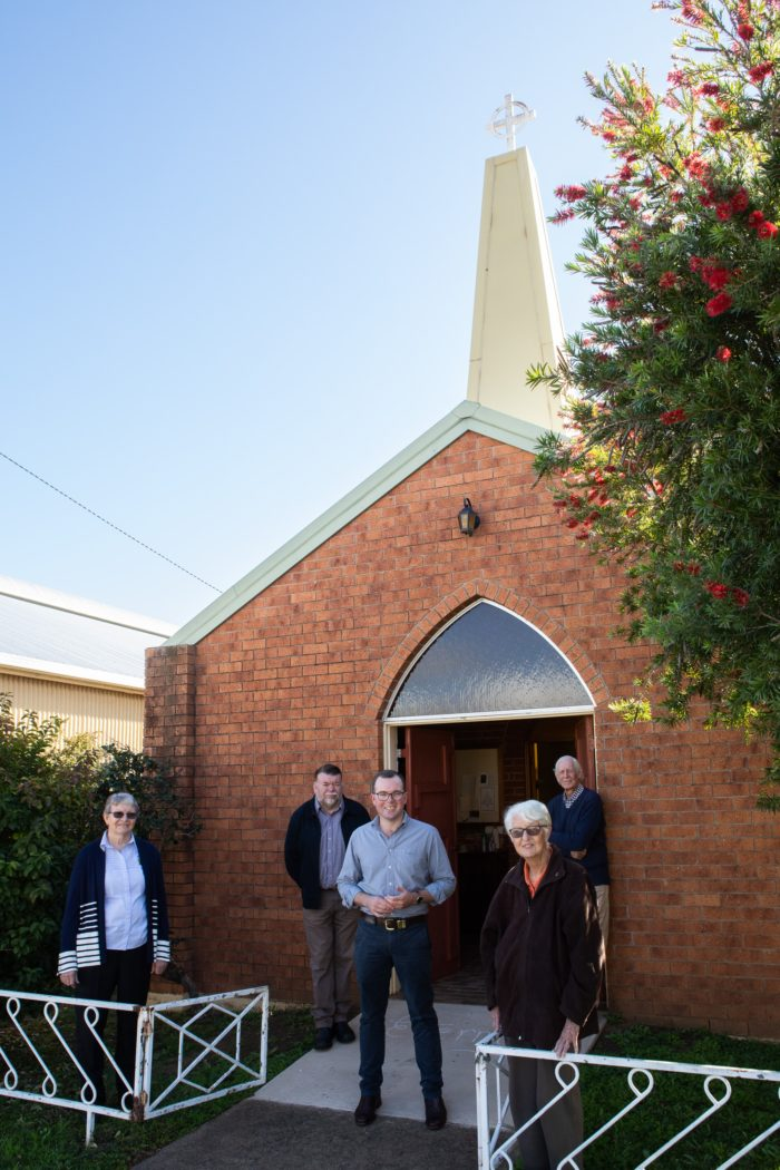 BINGARA'S PRESBYTERIAN CHURCH GAINS $15,000 MAINTENANCE PROGRAM
