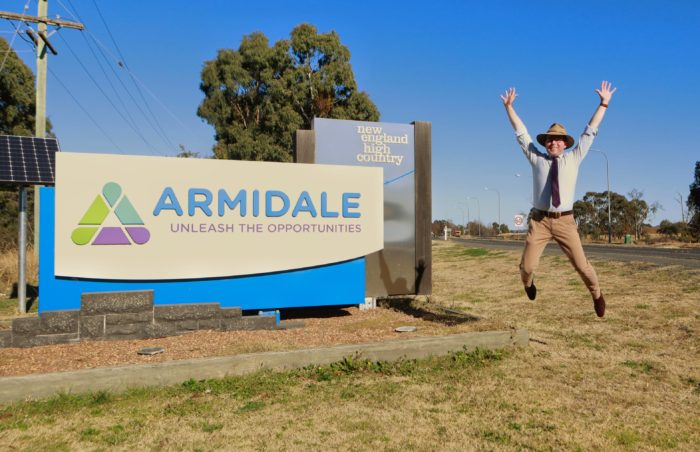 100 NEW JOBS BOUND FOR ARMIDALE WITH RELOCATION OF DEPARTMENT