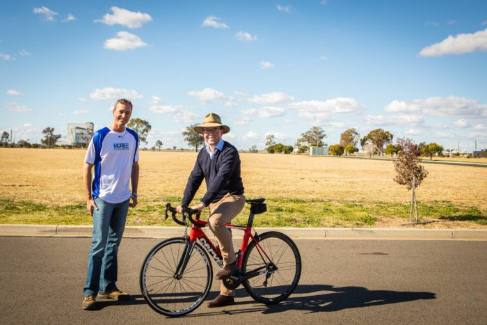 $5,000 KEEPS MOREE CYCLING & TRIATHLON CLUB ON THE RIGHT TRACK