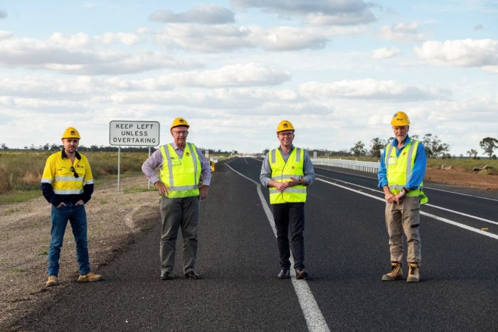 $203 MILLION NEWELL HIGHWAY UPGRADE PROGRESSING SOUTH OF BOGGABILLA
