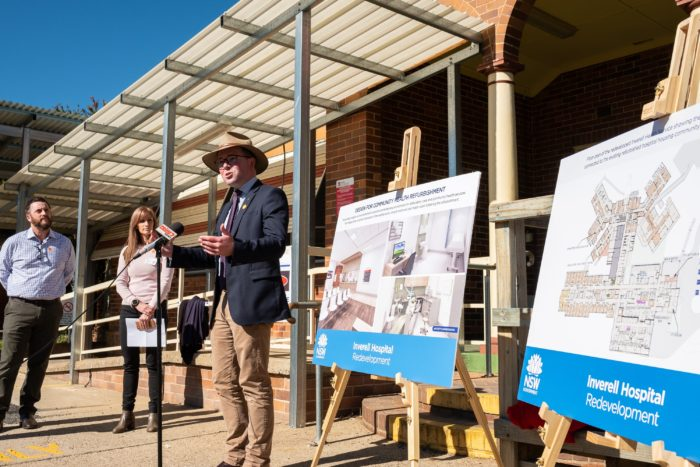 STAGE 2 OF $60 MILLION INVERELL HOSPITAL REDEVELOPMENT UNDERWAY