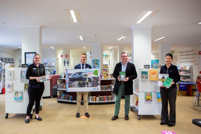 MOREE COMMUNITY LIBRARY HITTING THE ROAD TO ISOLATED COMMUNITIES