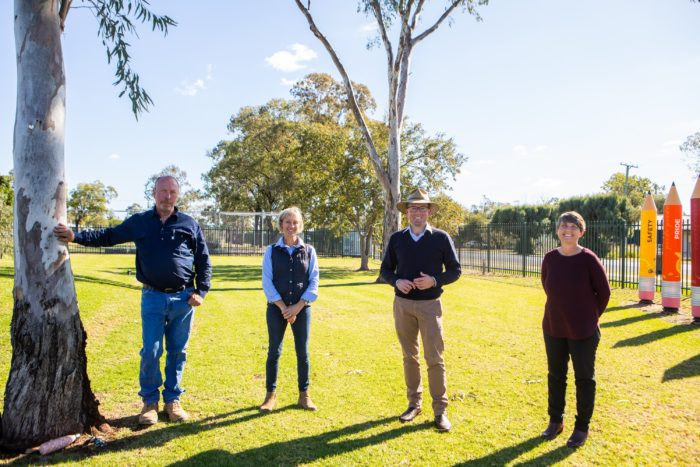 $11,000 OPENS THE GATE ON MOREE PONY CLUB'S NEW TEMPORARY HOME