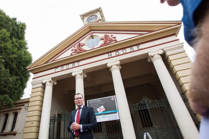 SLOW MARCH CONTINUES TO HERITAGE LIST HISTORIC ARMIDALE COURTHOUSE