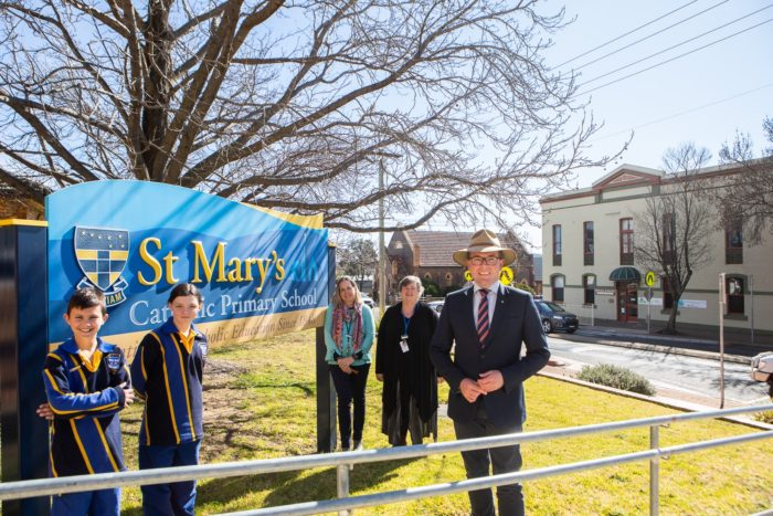FIRST SCHOOL CROSSING SUPERVISOR FOR ST MARY'S PRIMARY ARMIDALE