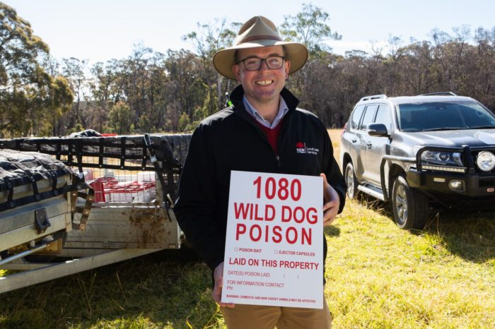 CALL OUT FOR FARMERS TO SIGN-UP TO SPRING WILD DOG CONTROL PROGRAM