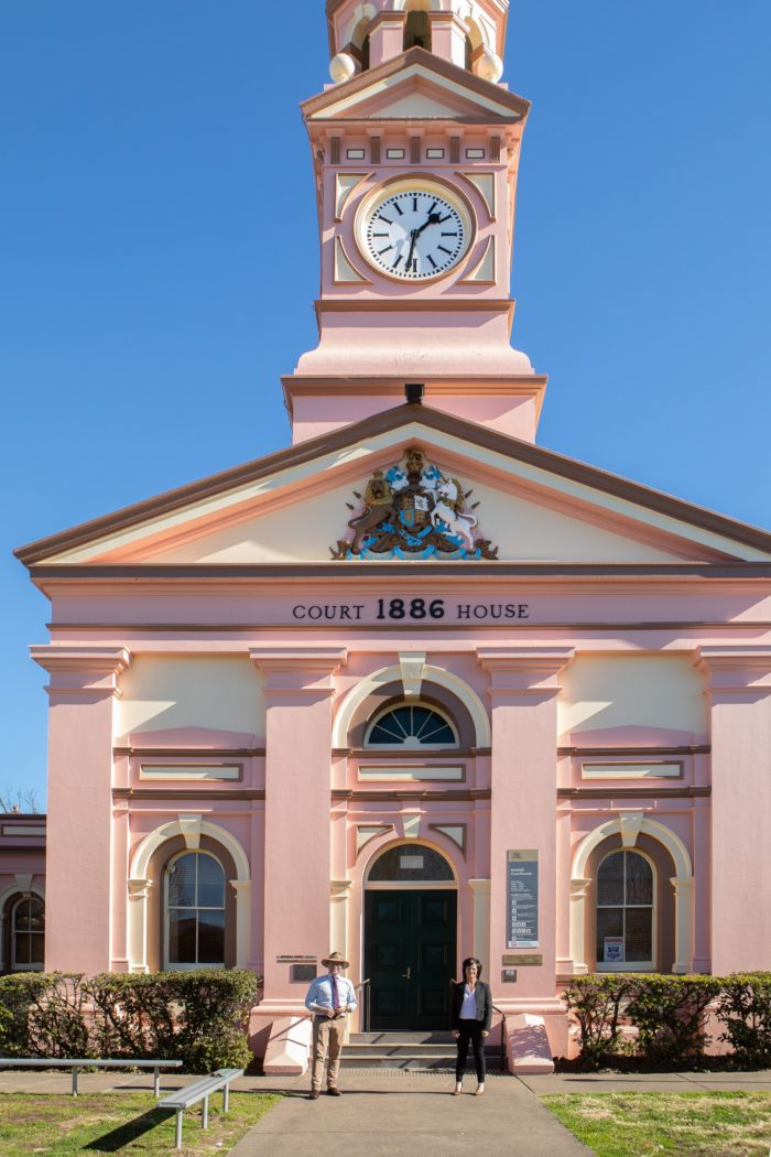 NEW SPLASH OF PAINT FOR 130-YEAR-OLD INVERELL COURTHOUSE