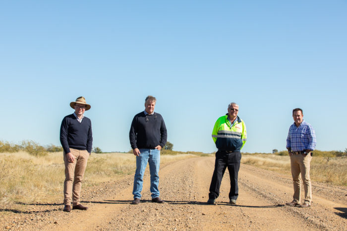 $560,588 HELPS MAKE FOR A SAFER RUN ON MOREE'S BURRINGTON ROAD