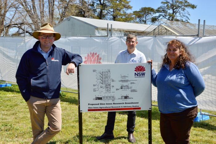 WORK STARTS ON $1.7 MILLION GLEN INNES RESEARCH STATION UPGRADE