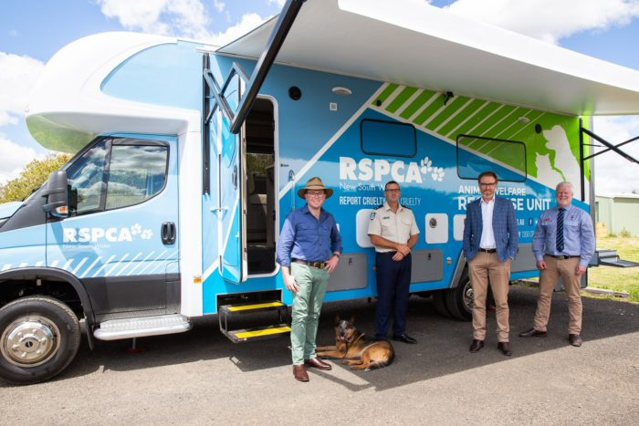NEW RSPCA NSW ANIMAL WELFARE RESPONSE UNIT LAUNCHED