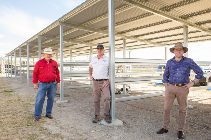 NEW WARIALDA SHOWGROUND STABLES CONSTRUCTION PASSES HALF-WAY MARK
