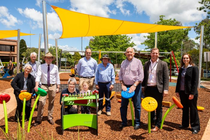 NEW ERA 'SWINGS IN' FOR CURTIS PARK WITH PLAYGROUND OFFICIALLY OPEN