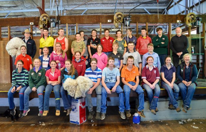 STUDENTS BACK ON THE BOARDS AT WOOL WORKS SHEARING SCHOOL