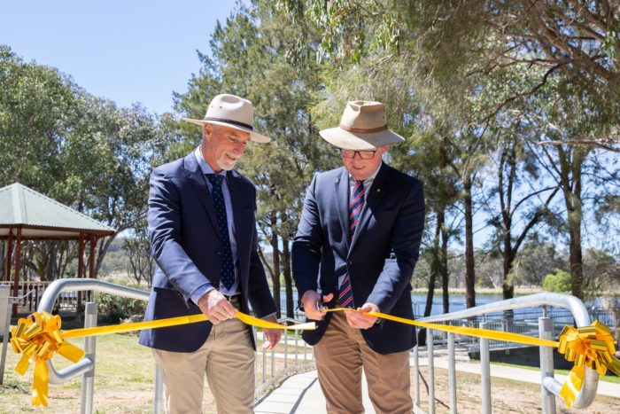 LAKE INVERELL BOARDWALK AND ACCESS UPGRADES OFFICIALLY OPEN
