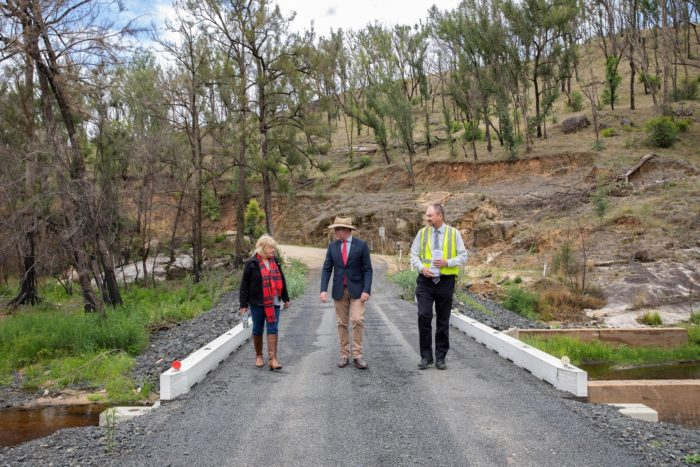 CONSTRUCTION BEGINS ON $2.3 MILLION MANN RIVER BRIDGE AT WYTALIBA