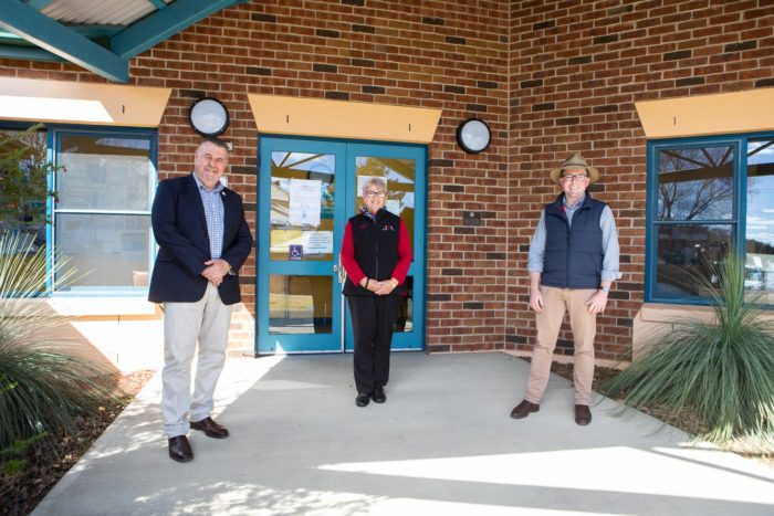 $45,000 'SHEDS LIGHT' ON URALLA COMMUNITY CENTRE IMPROVEMENTS