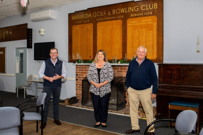 $315,000 UPGRADE LANDED FOR WARIALDA GOLF & BOWLING CLUB