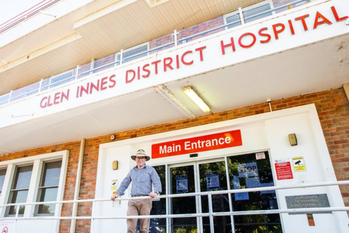 $100 MILLION MOREE & GLEN INNES HOSPITAL UPGRADES FAST-TRACKED