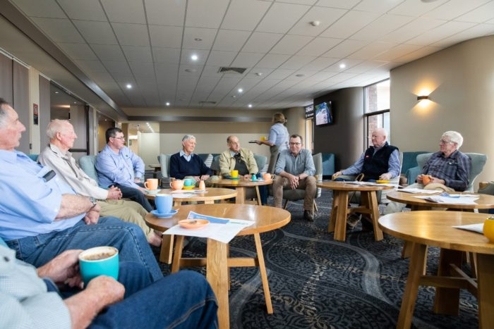 INVERELL RETIRED FARMERS GROUP BACK TOGETHER TO 'CHEW THE FAT'