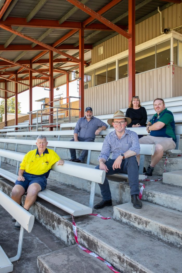 $1.1 MILLION SECURES A GRANDSTAND FINISH FOR MOREE RACE CLUB