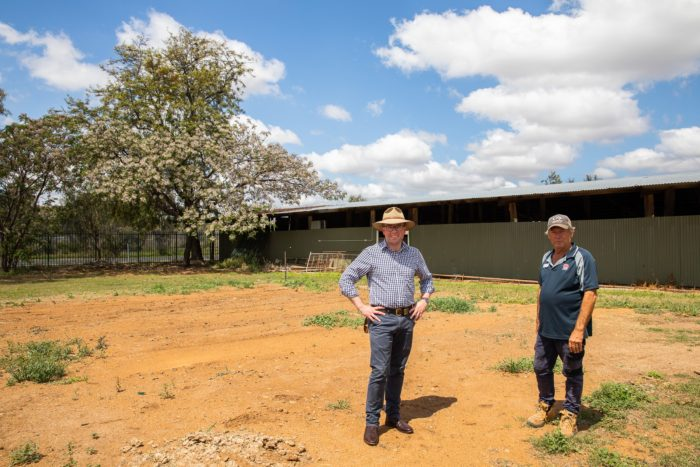 $57,480 TO CONSTRUCT NEW OPEN-AIR CATTLE SHED AT MOREE SHOWGROUND