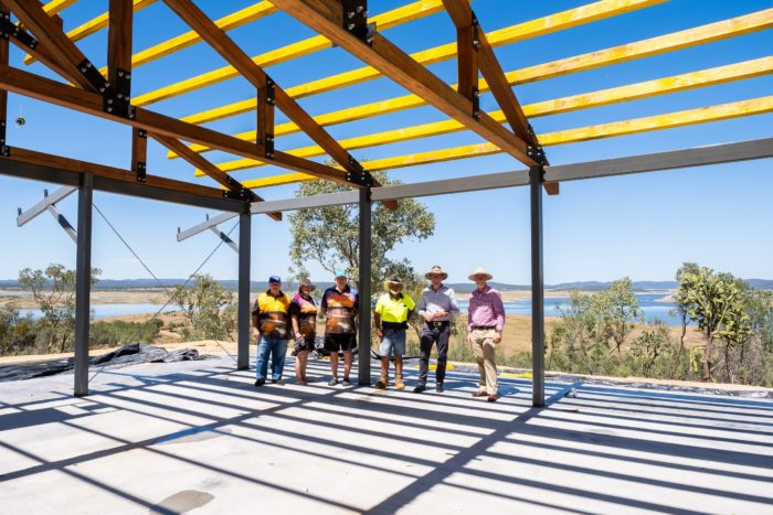 NEW-LOOK COPETON DAM NORTHERN FORESHORE RE-OPENS FOR CHRISTMAS