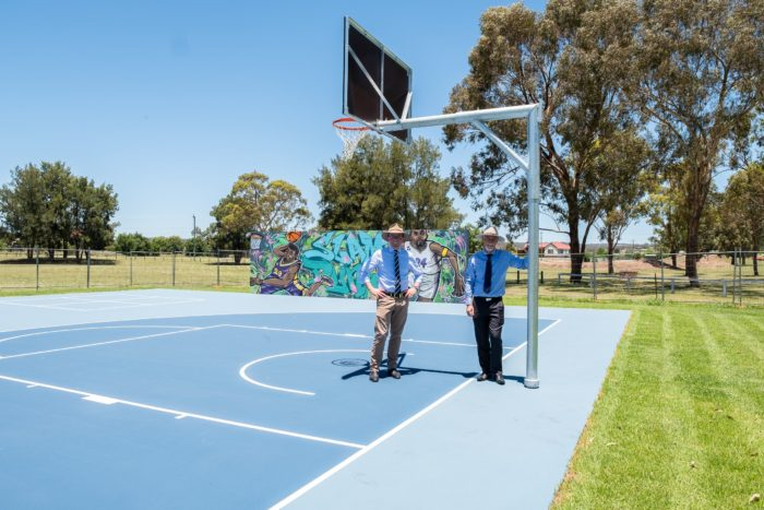 $28,416 SHEDS LIGHT ON NEW INVERELL YOUTH SPACE & BASKETBALL COURT