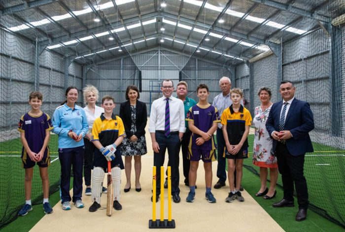 $70,000 HITS FINALS STAGE OF ARMIDALE REGIONAL CRICKET HUB FOR SIX