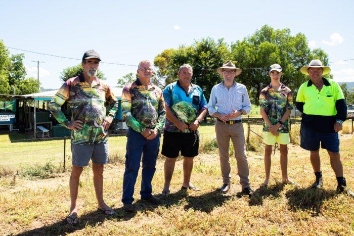 $174,905 GRANT SPAWNS NEW ERA FOR BINGARA FISH HATCHERY
