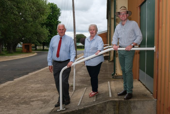 $63,000 RAMPS UP ACCESS TO GUYRA COMMUNITY HALL AT SHOWGROUND