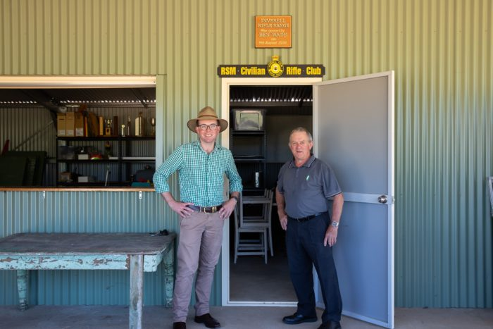 INVERELL RIFLE RANGE TARGETS NEW DISABLED TOILETS WITH $4,849 GRANT